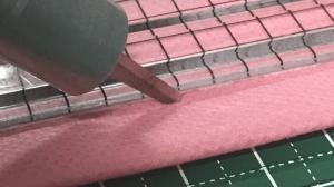 【裏技】スズキ超音波カッター SUW30CDを利用して不織布のカットと溶着を行ってみました。