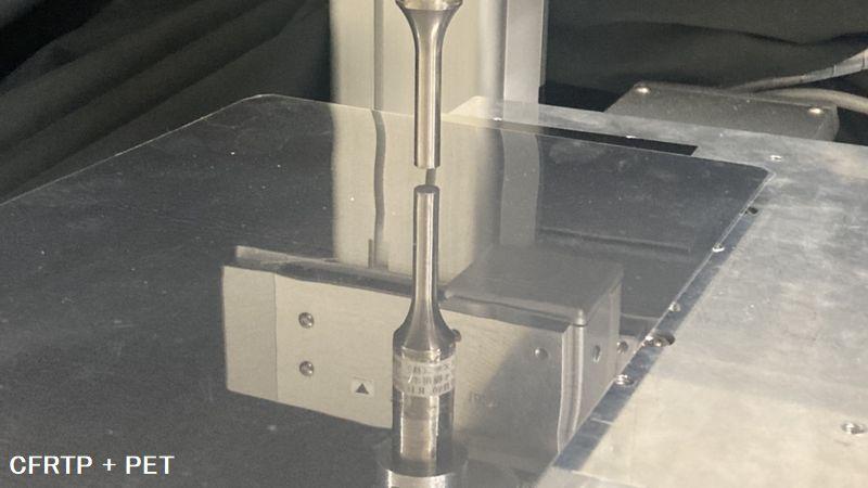 超音波溶着機 SUW300で熱可塑性炭素繊維強化プラスチックCFRTPの溶着を試みる